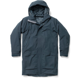 Houdini Fall in Parka Heren, blue illusion